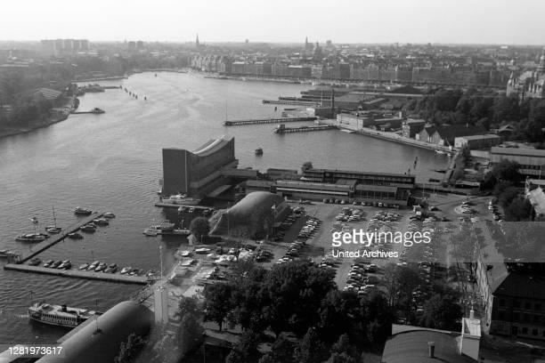 View of the Vasa Shipyard, 1969.