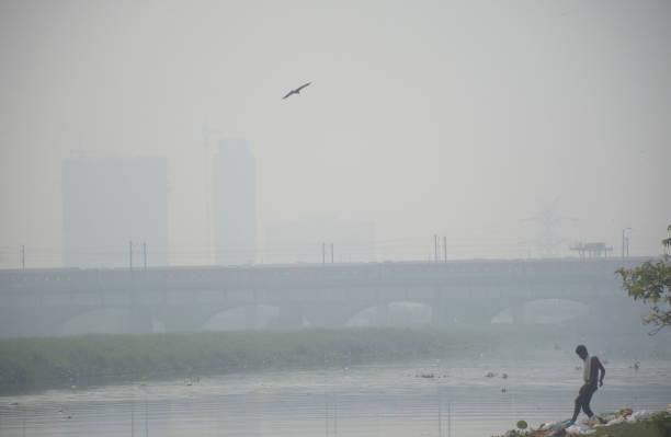 IND: Pollution In Delhi-NCR