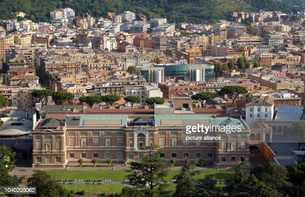 View of the Vatican Gardens of the Vatican City in Rome Italy 15 August 2013 Vatican City is the smallest internationally recognized independent...