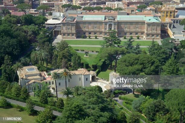 View of the Vatican Gardens Vatican City Vatican