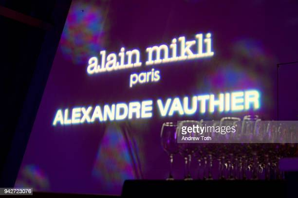 A view of the venue at the Alain Mikli x Alexandre Vauthier Launch Party on April 5 2018 in New York City