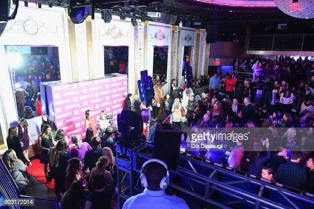A view of the venue at WE tv Launches Bridezillas Museum Of Natural Hysteria on February 22 2018 in New York City