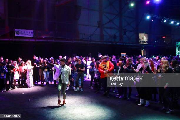 A view of the venue during the 2020 Sundance Film Festival Awards Night Party at Basin Recreation Field House on February 01 2020 in Park City Utah