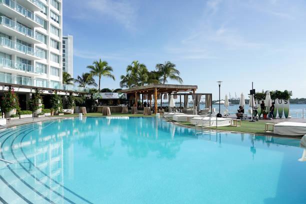 FL: CELSIUS Tropical Vibe Flavor Launch VIP Event At Baia Beach Club, Miami Beach
