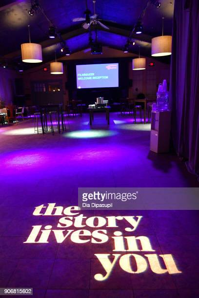 A view of the venue during the Filmmakers Welcome Reception during the 2018 Sundance Film Festival at The Shop on January 18 2018 in Park City Utah