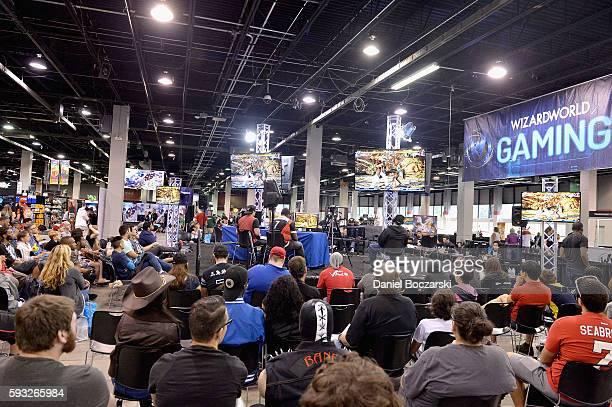 A view of the venue during Wizard World Comic Con Chicago 2016 Day 4 at Donald E Stephens Convention Center on August 21 2016 in Rosemont Illinois