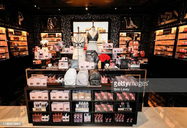 View of the Victoria's Secret store during Victoria's Secret debuts new Fall Collection with Angel Martha Hunt on August 08, 2019 in Houston, Texas.