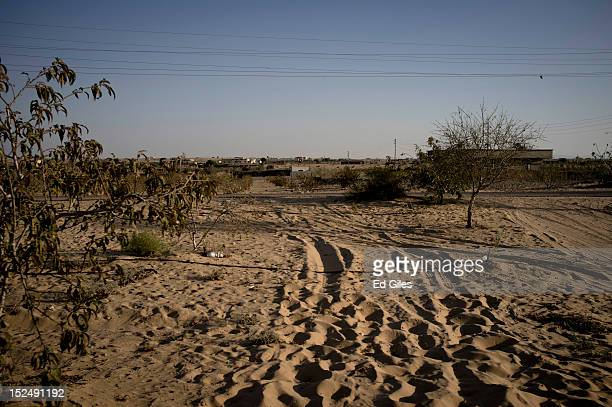 A view of the village of Al Muqattah in Egypt's restive North Sinai region September 20 2012 The village of Al Muqattah lies in Egypt's North Sinai...