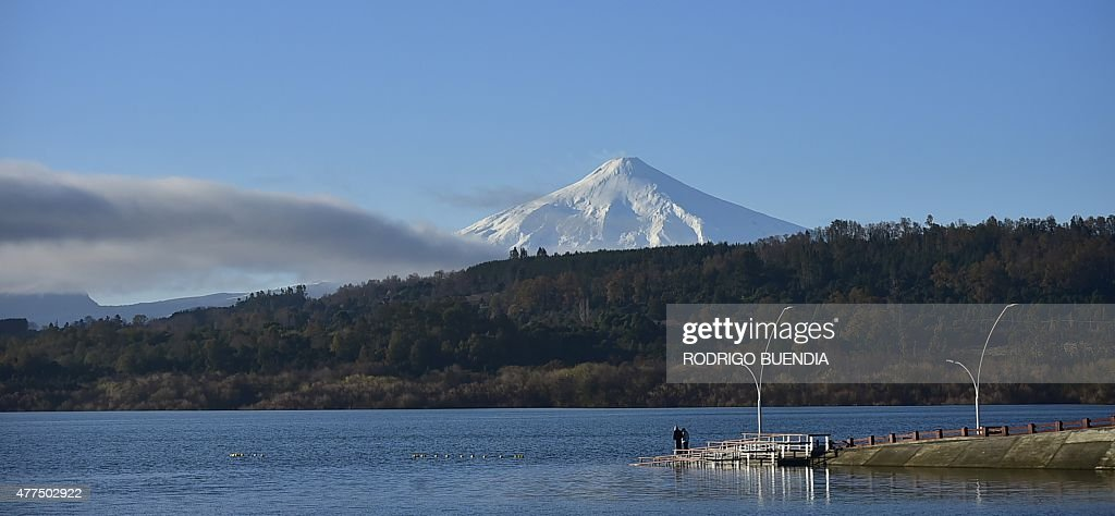 CHILE-VOLCANO-FEATURE : News Photo