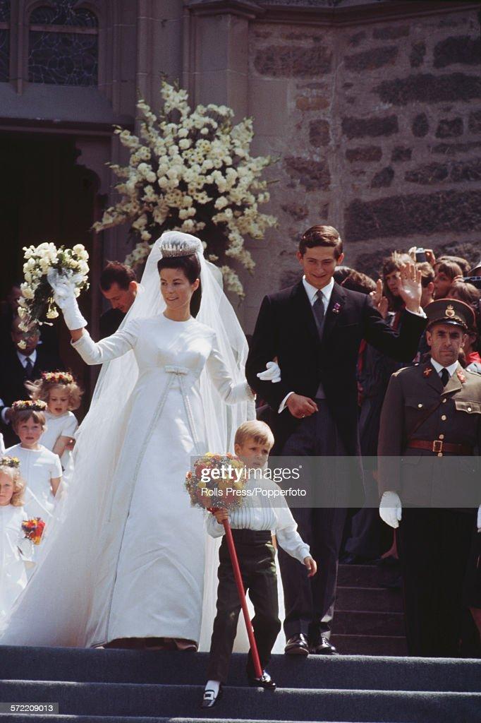Wedding of Prince Hans-Adam Of Liechtenstein : News Photo