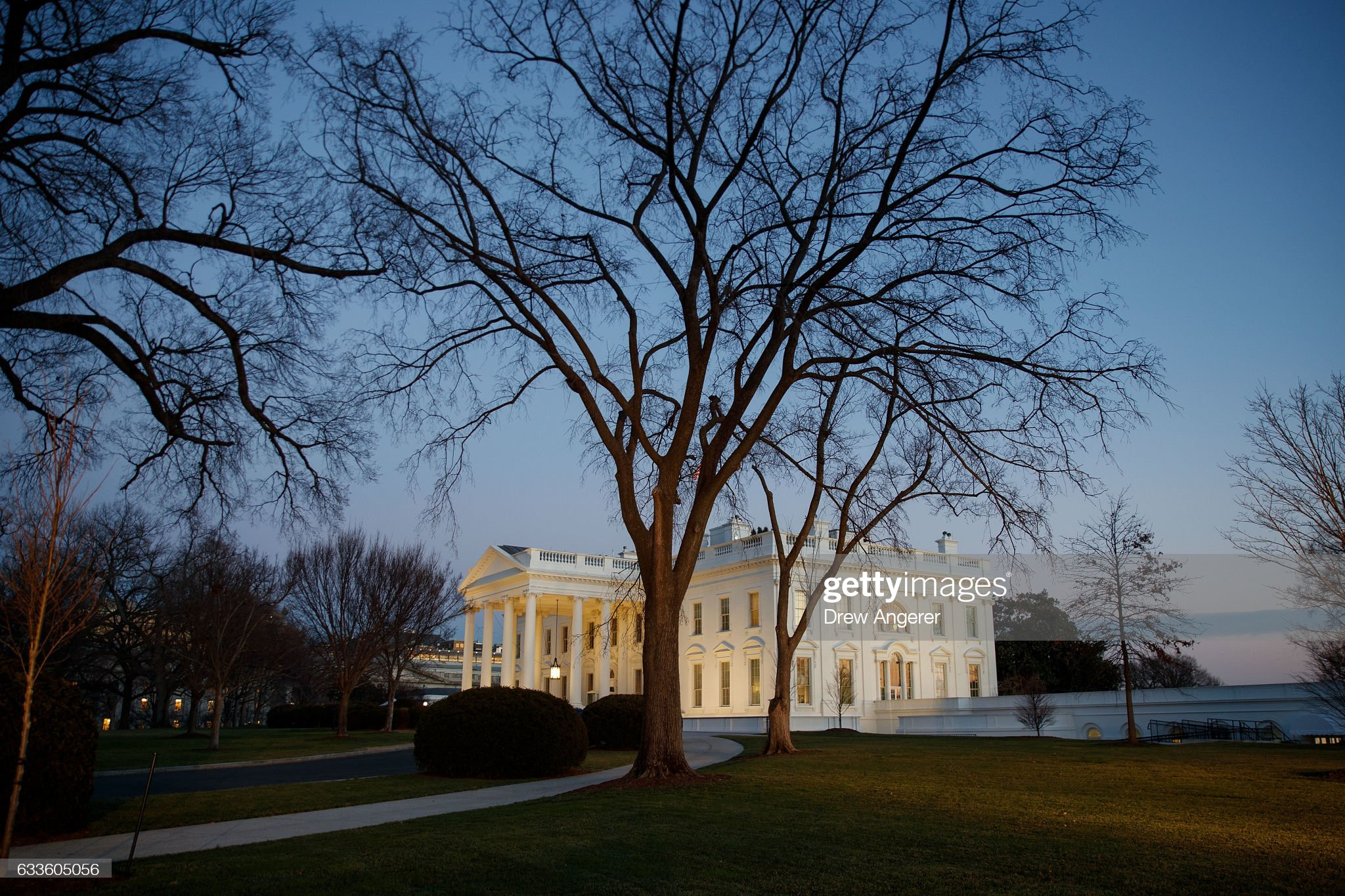 Trump Meets With Congressional Lawmakers At The White House : News Photo