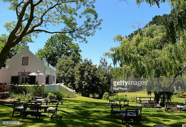 A view of the wine testing area at Eagles' Nest Wine Estate winiards Constantia Valley Wine Route Cape Town South Africa