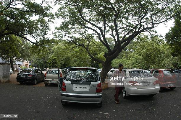 View of the Woodlands Drivein food Restaurant in Chennai Tamil Nadu India