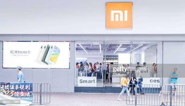 A view of the Xiaomi Corp store on Nathan Road in Hong Kong on May 7 2018 in Hong Kong Hong Kong A report by Strategic Analytics shows that Xiaomi...