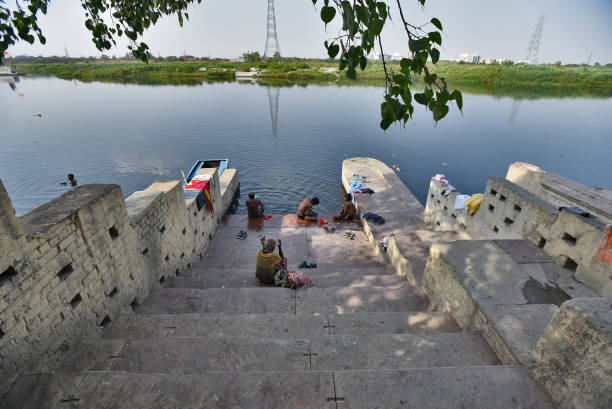 "IND: Photo Feature Story ""Delhi's Ghats On The Yamuna, Where Old Flows With The New"""