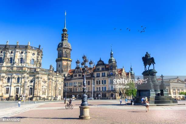 View of Theaterplatz, Dresden, Germany