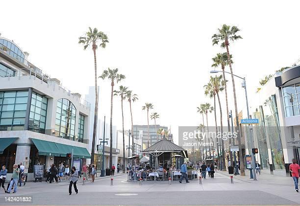 A view of Third Street Promenade on April 3 2012 in Santa Monica California