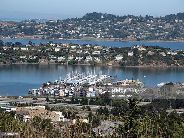 View of Tiburon and Belvedere from Sausalito