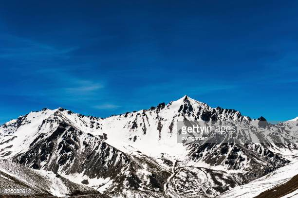 view of tien shan mountains,xinjiang,china - tien shan mountains stock pictures, royalty-free photos & images