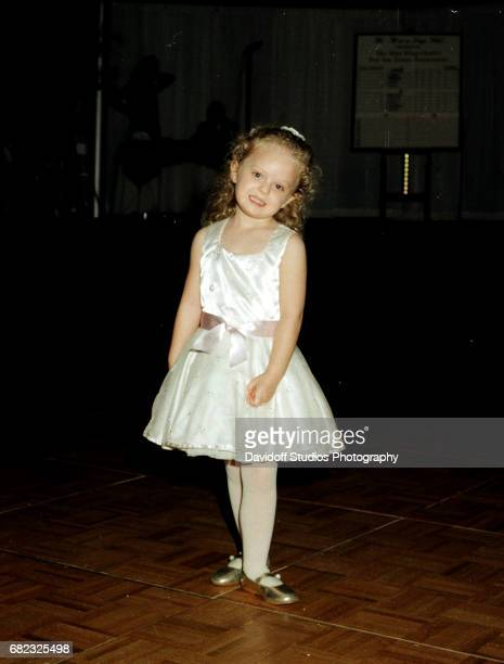 View of Tiffany Trump as she dances on the floor at the MaraLago club Palm Beach Florida February 22 1997