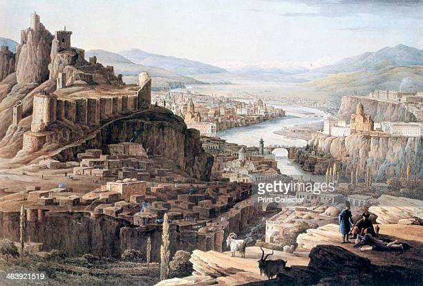 'View of Tiflis' 1830