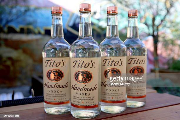A view of Tito's Handmade Vodka as CAP UCLA teams with The Broad J Paul Getty Museum LACMA and Hauser Wirth Schimmel to present Trisha Brown In Plain...