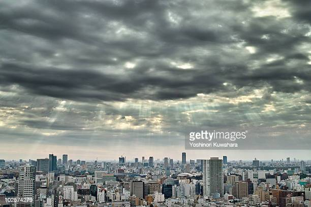 View of Tokyo city