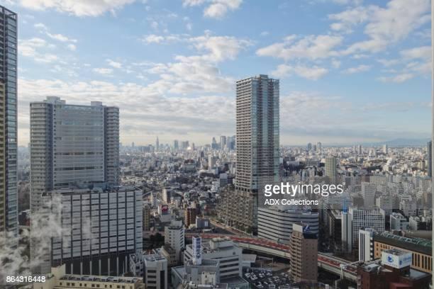 View of Tokyo Skyline
