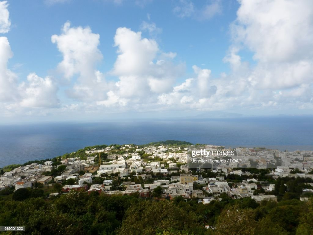 View of townscape in Capri, Italy : Stock Photo