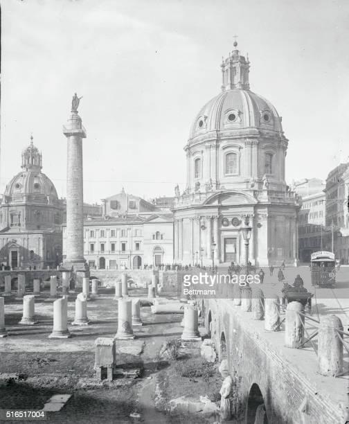 View of Trajan's Forum