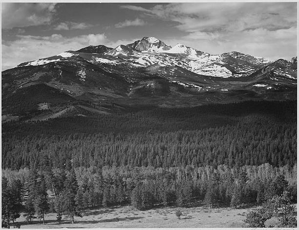 Long's Peak , Rocky Mountain National Park