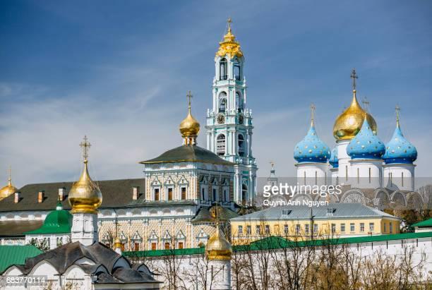 View of Trinity Monastery (lavra) in Sergiev Posad, Russia