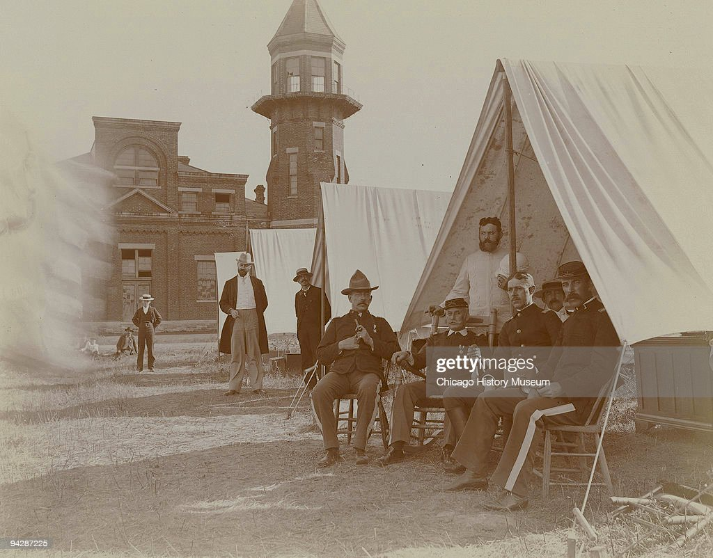 Soldiers During The Pullman Strike Of 1894 : News Photo