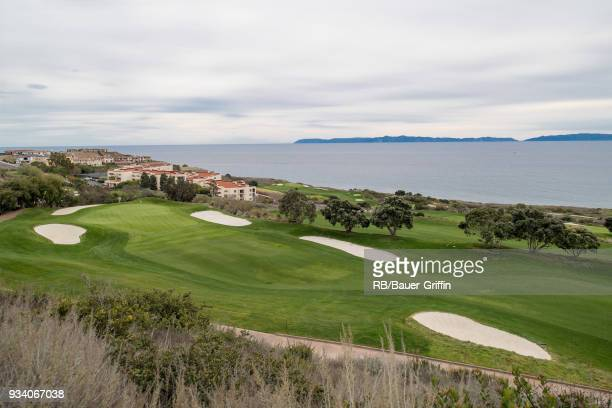 View of Trump National Golf Club on March 18 2018 in Los Angeles California