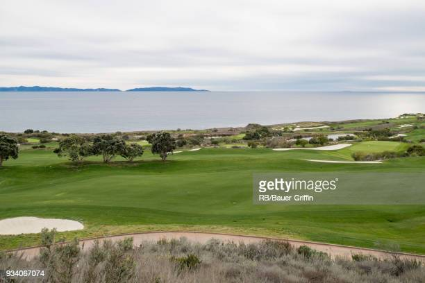 View of Trump National Golf Club on March 18, 2018 in Los Angeles, California.