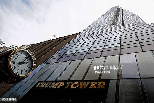 View of Trump Tower in 5th Avenue on August 08 2015 in New York City