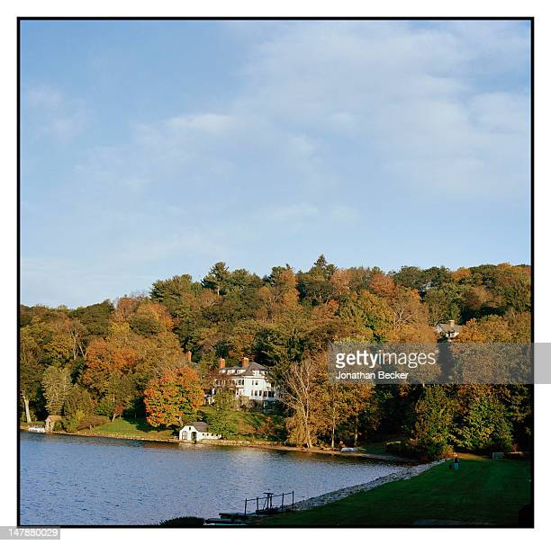 View of Tuxedo Park is photographed for Town & Country Magazine on September 8, 2011 in Tuxedo Park, New York.