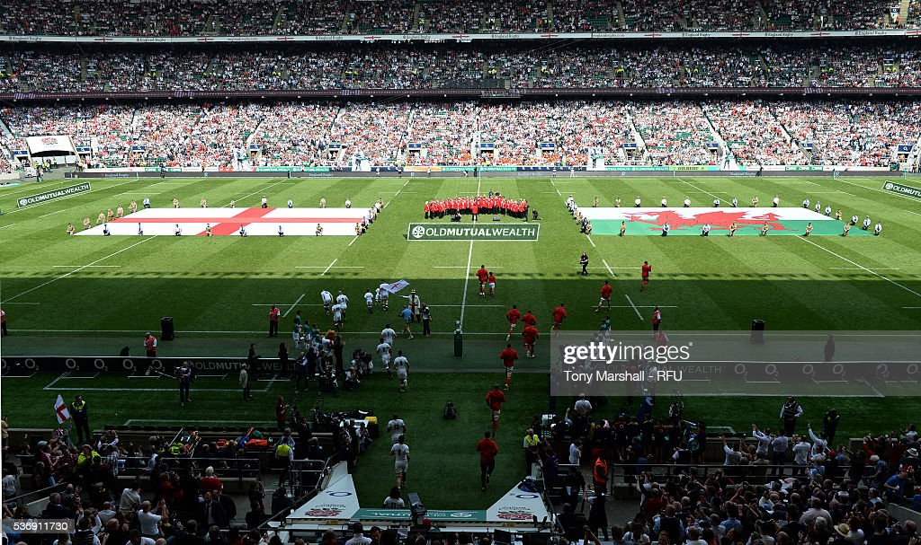 England v Wales - Old Mutual Wealth Cup : News Photo