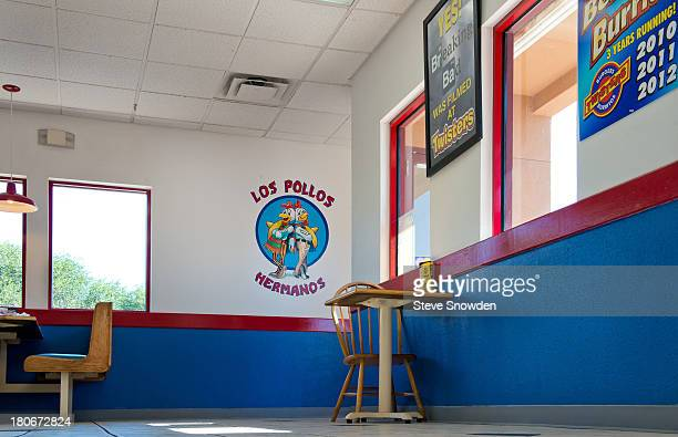 A view of Twisters on August 31 2013 in Albuquerque New Mexico Twisters served as Gustavo Fring's Los Pollos Hermanos restaurant in 'Breaking Bad'...