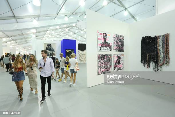 View of Tyburn Gallery booth at Untitled Art as part of the 2018 Art Basel Miami Beach on December 8 2018 in Miami Beach Florida
