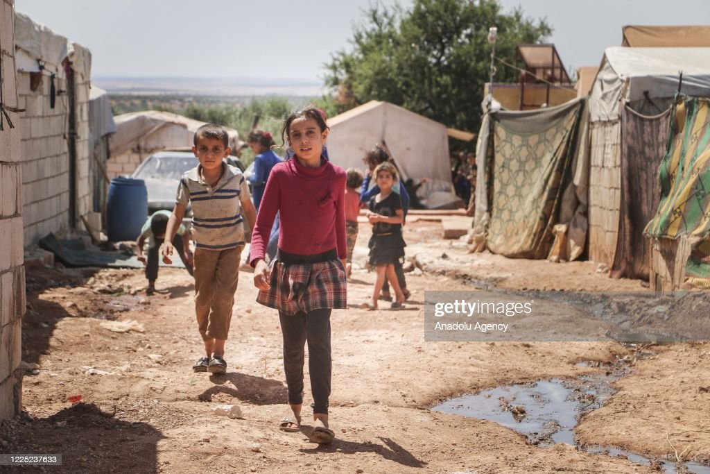 Leishmaniasis disease spreads in refugee camps in Idlib : ニュース写真