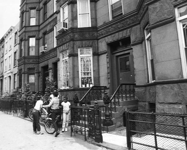 View of Union Street in Park Slope, Brooklyn.