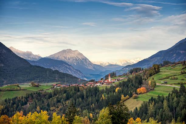 View of Unterleins in Tyrol