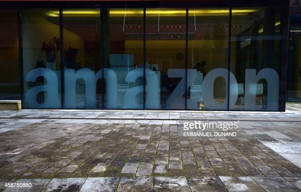 A view of US multinational Amazon's European headquarters nestled in the Clausen Valley in Luxembourg November 10 2014 Leaked documents describing...