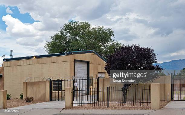 A view of Vamanos Pest Control / Experts with Dangerous Chemicals on September 01 2013 in Albuquerque New Mexico This became a part of 'Breaking Bad'...