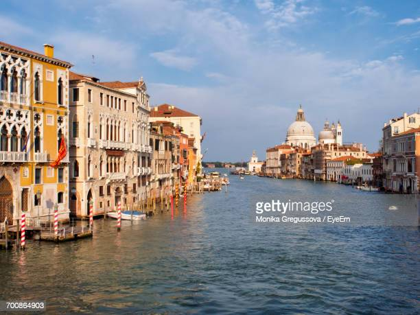 view of venice grand canal - monika gregussova stock pictures, royalty-free photos & images