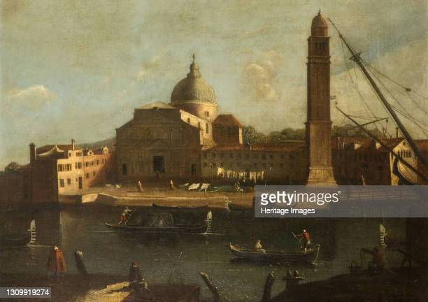 View Of Venice - The Church Of Il Redentore, 1700-1800. Artist Unknown. .
