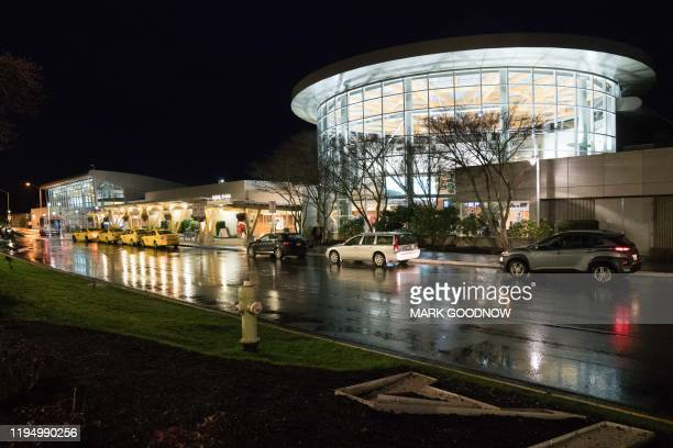 View of Victoria International airport in North Saanich, Municipality in Vancouver Island, British Columbia, Canada on January 20, 2020. - Britain's...