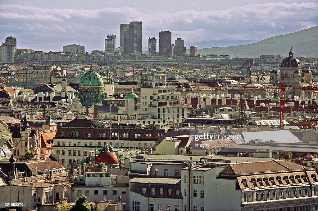 View Of The Wienerbergstraße : News Photo