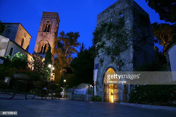 A view of Villa Rufolo on August 12 2009 in Ravello Italy Ravello is a town and commune situated above the Amalfi Coast The town has served...
